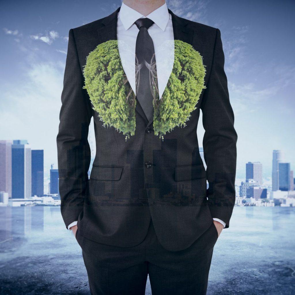 Bush on a suit